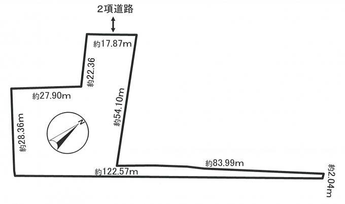 〔土地〕小樽市高島5丁目 画像3