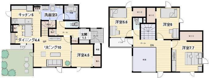 《新築》菊水上町4-3住宅D棟 画像3