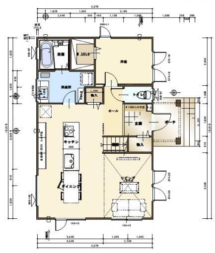 【コスモ建設】アイランドキッチンを楽しむ家  London  ロンドン 画像3
