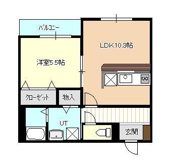 札幌市清田区のマンション 画像2