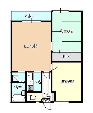 札幌市東区のアパート 画像2