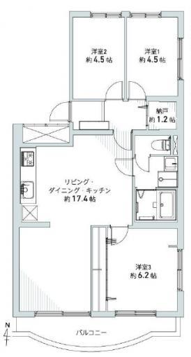 北海道札幌市中央区南二十六条西12丁目1-2 札幌市電山鼻線[中央図書館前]の売買中古マンション物件詳細はこちら