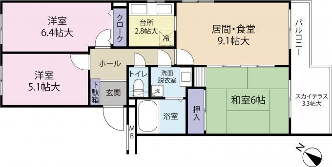 札幌市東区の中古マンション 画像3