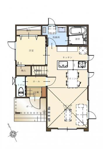 【コスモ建設】2階全室W.I.CLOの家  Pescara  ペスカーラ 画像2