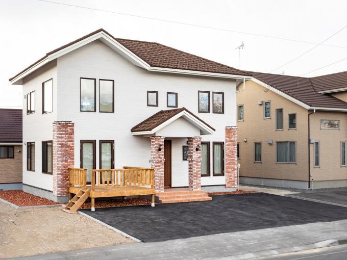 北海道苫小牧市柳町4丁目2番59 の売買新築一戸建て物件詳細はこちら