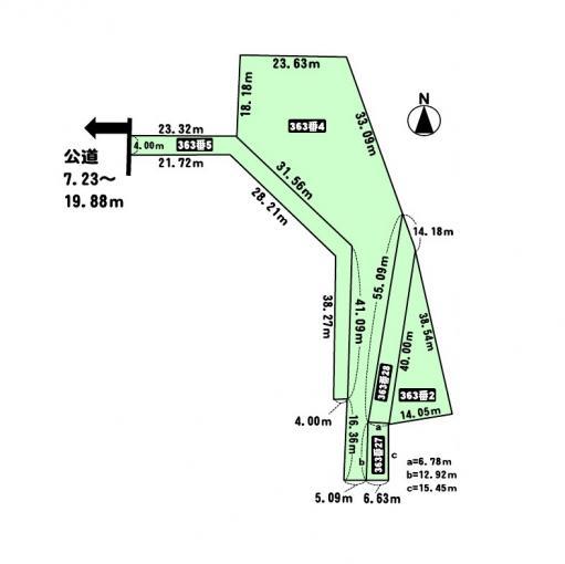 北海道小樽市春香町363-2、4、5、27、28 の売買土地物件詳細はこちら
