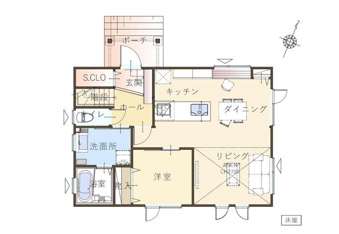 【コスモ建設】仕事が捗る♪テレワーク室のある家  Caserta  カゼルタ 画像2