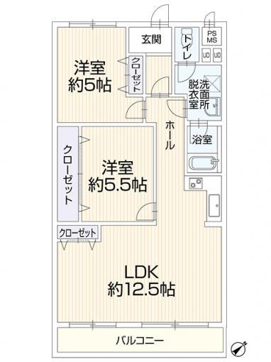【北34条駅徒歩11分】シャンボール北三十四条 画像2