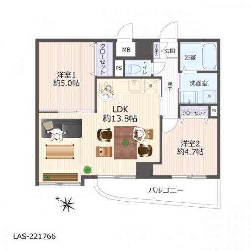 真駒内ガーデンハウス 画像3
