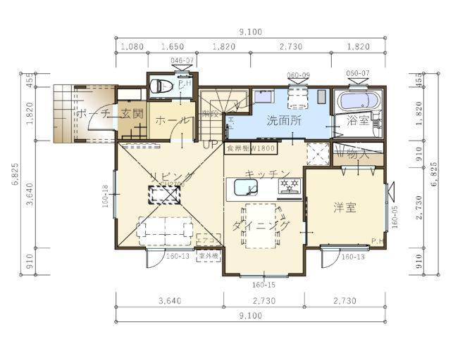 【コスモ建設】《駅近プロジェクト》高天井リビングの家  Kalmar  カルマル 画像3