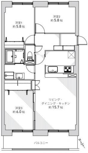 ◆エトワール新札幌◆ 画像3
