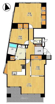 ◆エクセルシオール大谷地 10階部分98.88㎡の3LDK♪◆ 画像3
