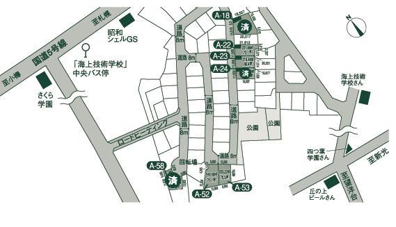 北海道小樽市桜3丁目462番地37他 の売買2区画以上の土地物件詳細はこちら