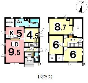 ◆江別市萌えぎ野東 書斎スペース有り!在宅ワークにオススメ!◆ 画像3