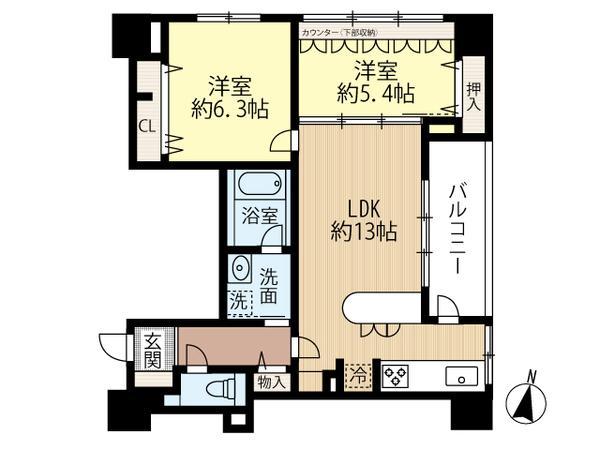 ラ・クラッセ札幌ステーションフロント 303号室 画像2