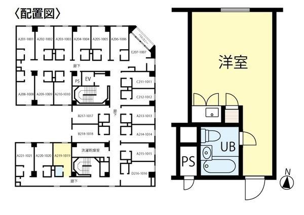 シャンボール札幌619号室 画像2