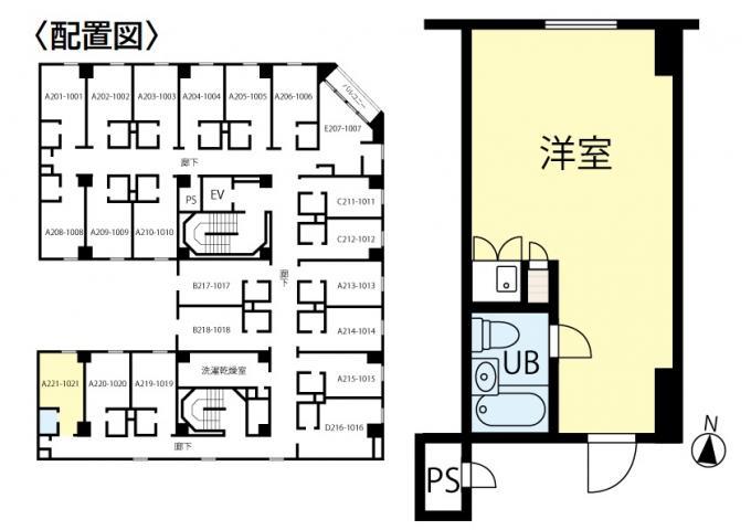 シャンボール札幌721号室 画像2