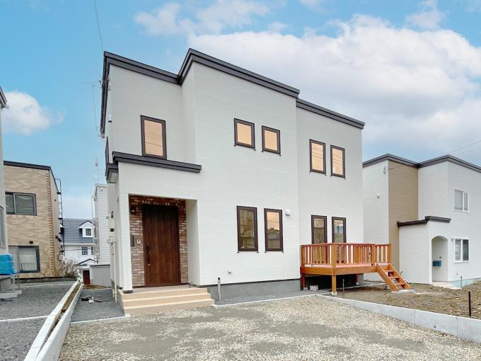 北海道札幌市南区中ノ沢2丁目3-11 №8 の売買新築一戸建て物件詳細はこちら