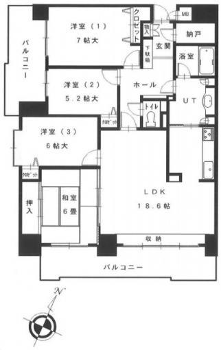 パシフィック新道東壱番館 画像2