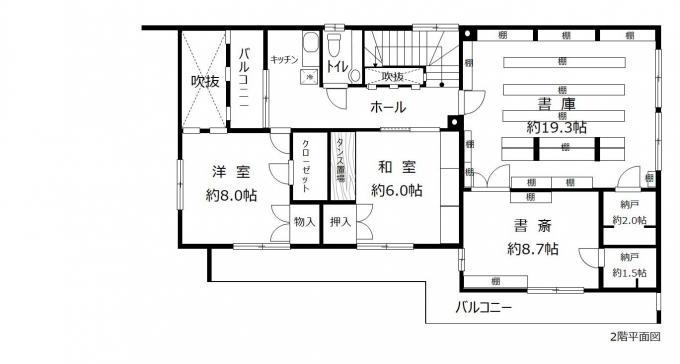 札幌市南区真駒内曙町3丁目 (6LDK+S)二世帯住宅可能 画像3