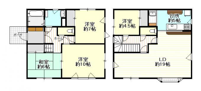 里塚3-4中古住宅 画像3