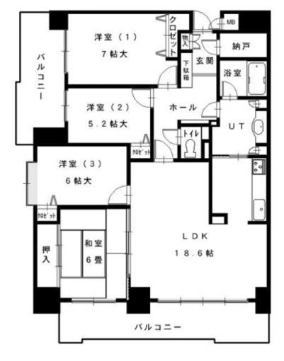 パシフィック新道東壱番館 画像3