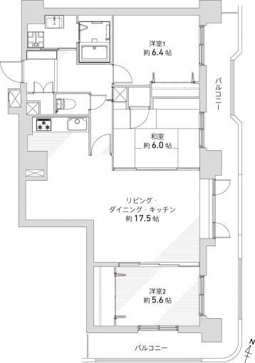 小樽市の中古マンション 画像3