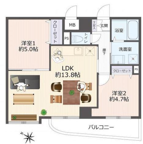 #真駒内ガーデンハウス 画像3
