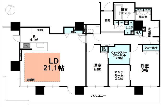 ブランズタワーアイム札幌大通公園 画像3