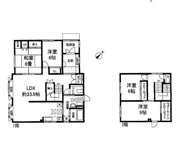 江別市東野幌26番地9 戸建 画像3