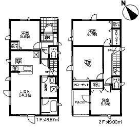 北海道札幌市北区新琴似六条 の売買新築一戸建て物件詳細はこちら