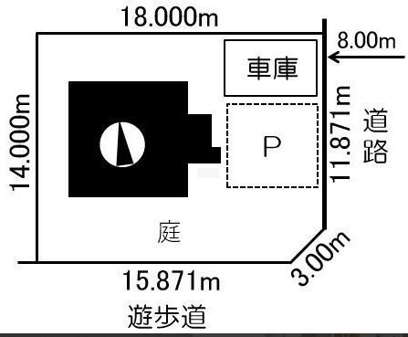 駐車2~3台可(車庫1台含)!4LDK!南幌町東町 一戸建て 画像2