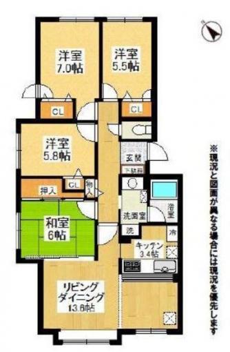 上野幌ファミールハイツ参番館 画像2
