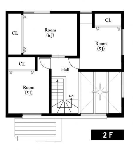 北野3条5丁目モデル20-02(角地) 画像3