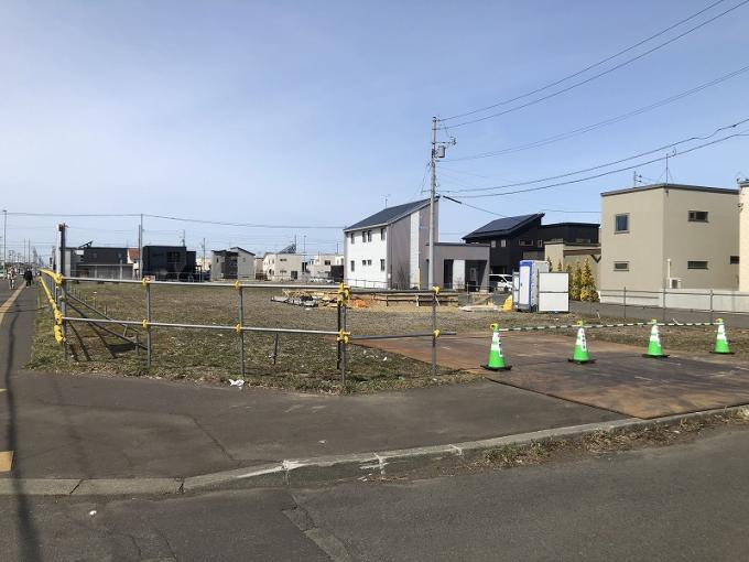 北海道札幌市東区東雁来十一条3丁目 の売買土地物件詳細はこちら