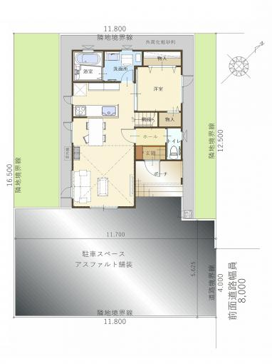 【コスモ建設】2階全居室W.CLOの家Billundビルン 画像3