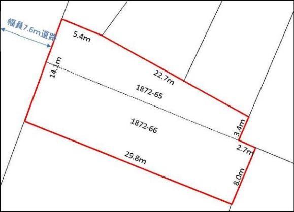 ◆旭ヶ丘5丁目 売土地 広々とした117.6坪の土地!建築条件無し!◆ 画像3