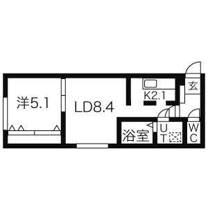 ★☆安心のオートロック完備☆★アクシズ171 206号室 画像3