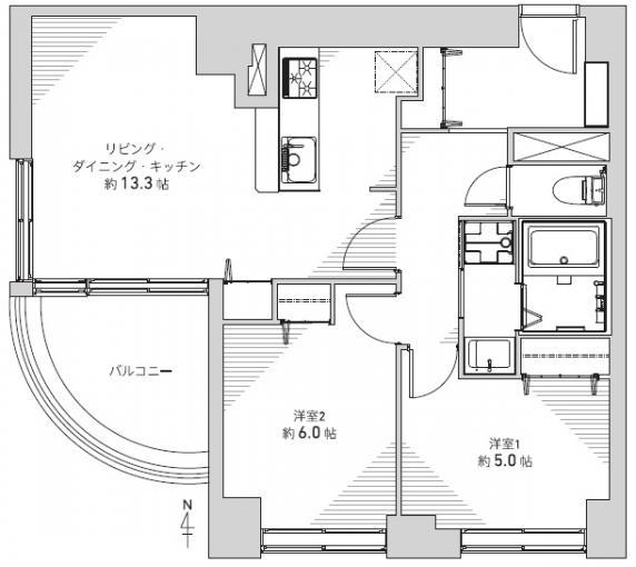 チサンマンション札幌第三 画像2