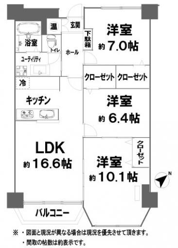 カトレアハイツ札幌 画像3