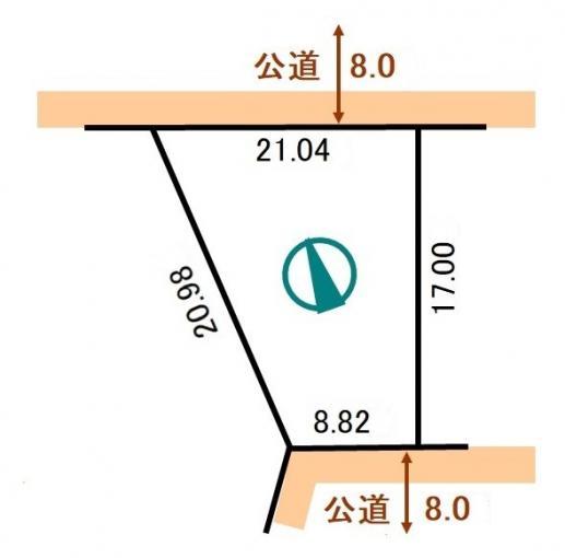 【360°パノラマ画像公開中】小樽市新光5丁目 土地 画像3
