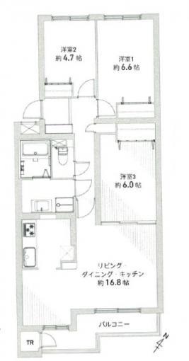 札幌市西区の中古マンション 画像2