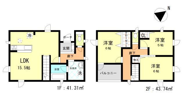 新川1条新築戸建て 画像2