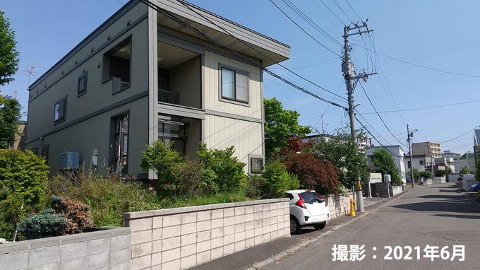 【建築条件付き】札幌市南区真駒内曙町3丁目 画像3