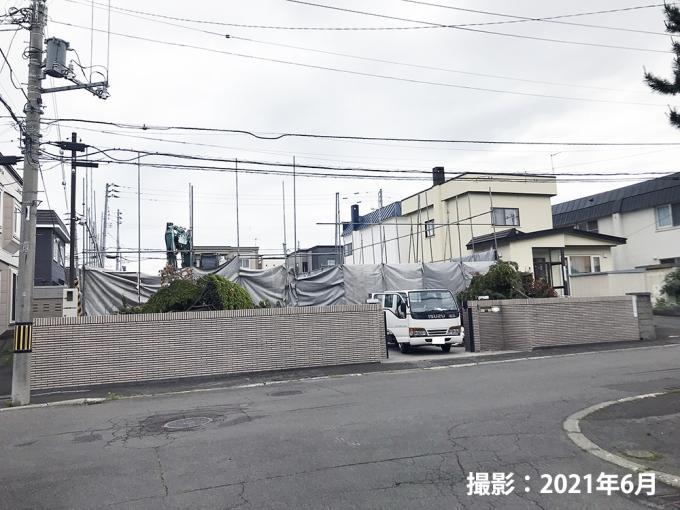 札幌市清田区平岡4条3丁目【建築条件付き】 画像2