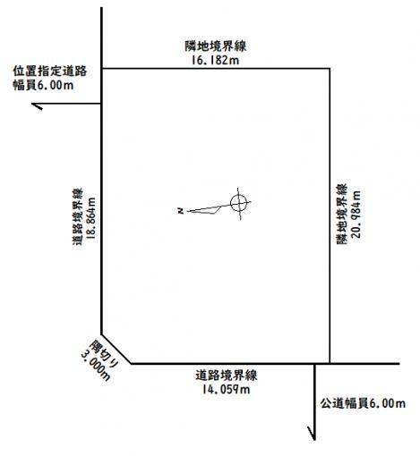 ◆澄川5条5丁目 地下鉄「澄川」駅徒歩12分の住宅用地◆ 画像3