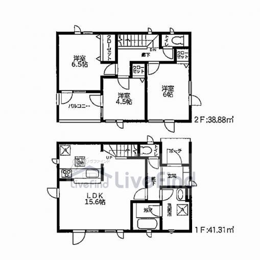 フラット35S・すまい給付金対応!耐震+制震の家【QUIE(クワイエ)】南区藤野一条第1 画像3