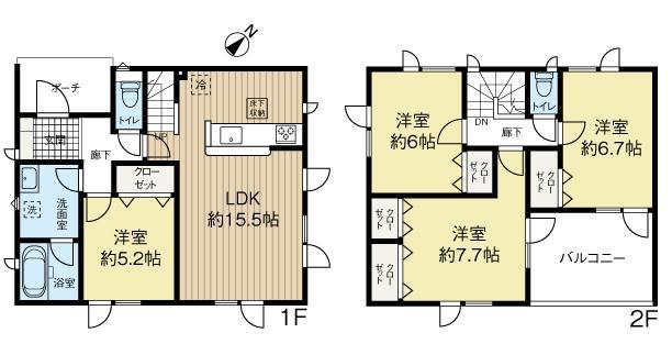 厚別東5-3 新築分譲住宅(1号棟) 画像3