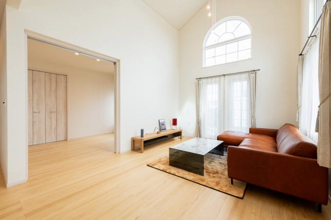 【コスモ建設】4.9m高天井の贅沢空間~平屋    Paris  パリ 画像3