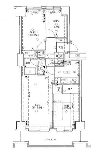 ラークマンション桂台 画像2